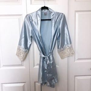 29753e75c36 Chez Blanc Intimates   Sleepwear - Chez Blanc Satin Robe
